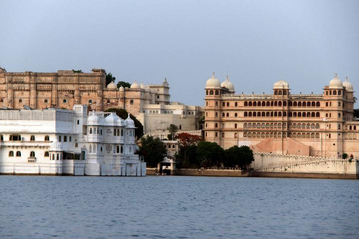 City Palace and Lake Palace