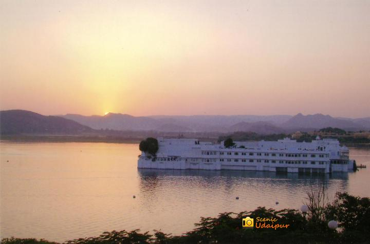 Lake Palace is a luxury hotel of Taj in Udaipur.